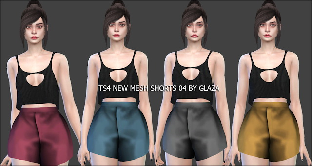 Sims 4 Shorts 04 at All by Glaza
