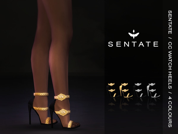 Sims 4 Watch Heels by Sentate at TSR