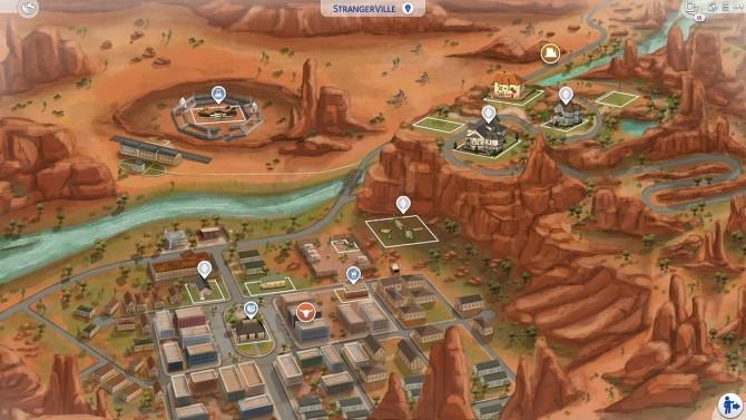 Sims 4 StrangerVille & Selvadorada Fanart Maps at DerShayan