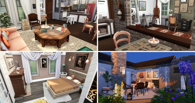 Sims 4 Changes to lots at Simsontherope