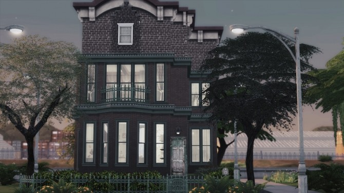 Sims 4 16 | OLD TOWNHOUSE at SoulSisterSims