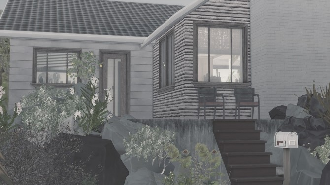 Sims 4 15 | P.E.A.R.L small house at the Sea at SoulSisterSims