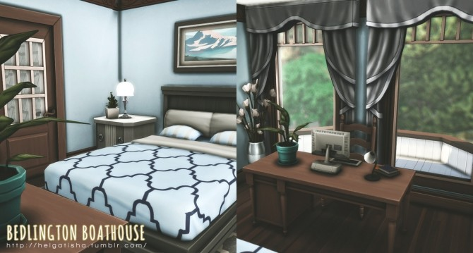 Sims 4 Bedlington Boathouse at Helga Tisha