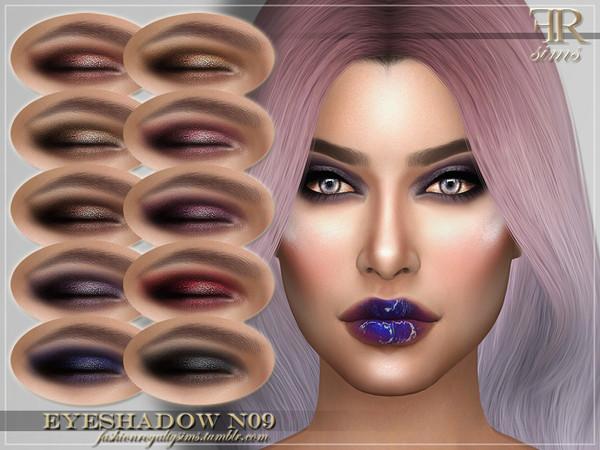 Sims 4 FRS Eyeshadow N09 by FashionRoyaltySims at TSR