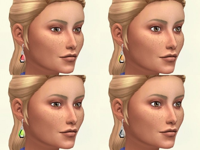 Butterfly wings earrings by Delise at Sims Artists image 200 670x503 Sims 4 Updates