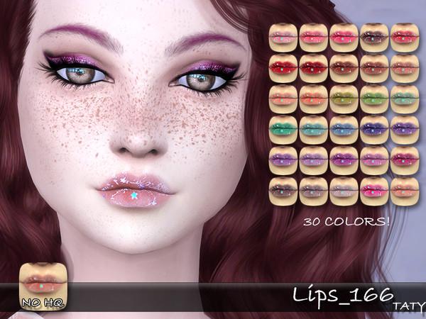 Sims 4 Lips 166 by tatygagg at TSR
