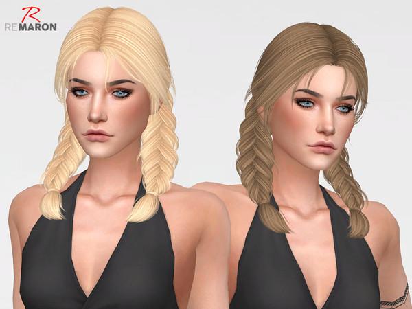 Sims 4 Julia Hair Retexture by remaron at TSR