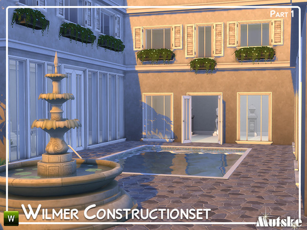 Sims 4 Wilmer Construction set Part 1 by mutske at TSR