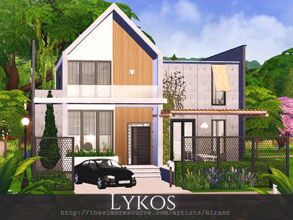 Lykos house by Rirann at TSR image 2160 Sims 4 Updates