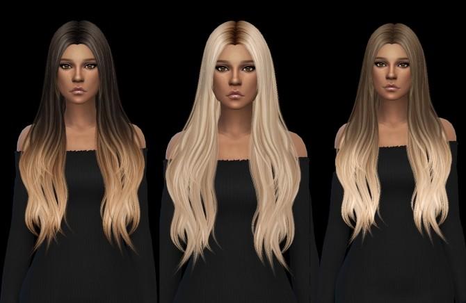 Sims 4 Muse Hair Rc at Leo Sims