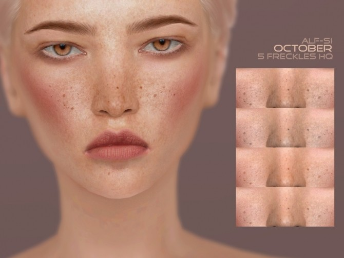 Sims 4 Freckles 04 October HQ at Alf si
