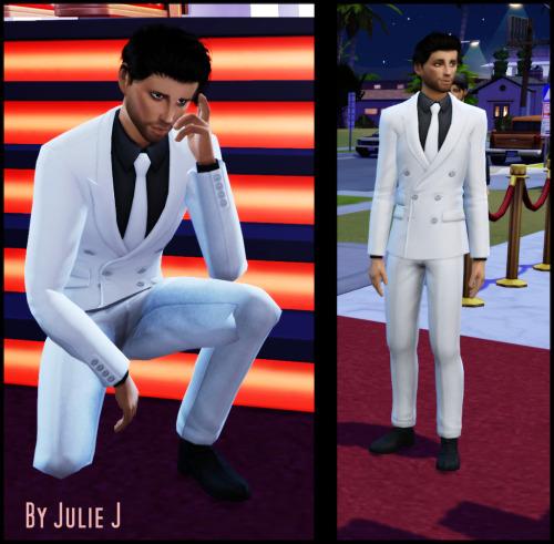 Sims 4 GP07 Suit Retexture at Julietoon – Julie J
