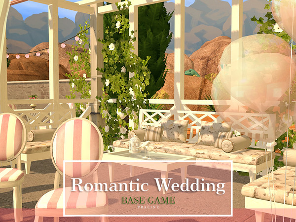 Sims 4 Romantic Wedding by Pralinesims at TSR