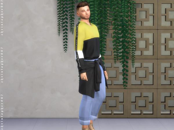 Sims 4 Petra Pants by Christopher067 at TSR