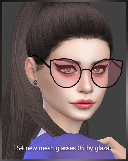 Sims 4 Glasses 05 at All by Glaza