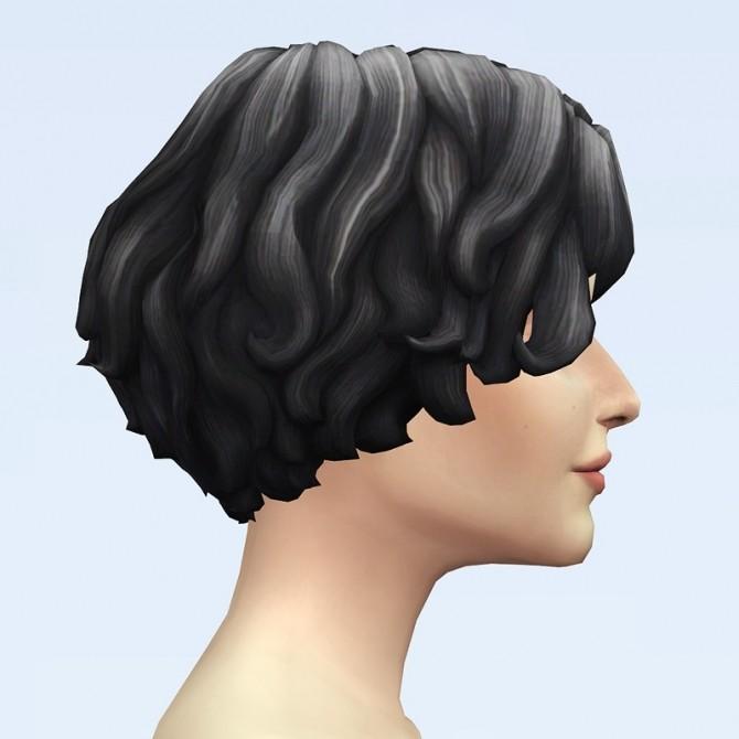 GP07 Curly Mid Hair Edit V1 at Rusty Nail image 2312 670x670 Sims 4 Updates