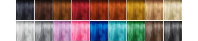 GP07 Curly Mid Hair Edit V1 at Rusty Nail image 2331 670x139 Sims 4 Updates