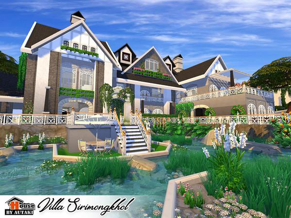 Villa Sirimongkhol by autaki at TSR image 2337 Sims 4 Updates