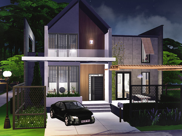 Lykos house by Rirann at TSR image 2339 Sims 4 Updates