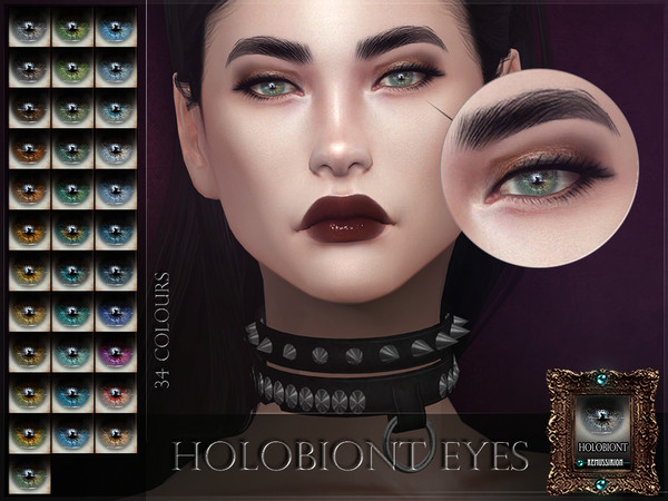 Sims 4 Holobiont Eyes by RemusSirion at TSR