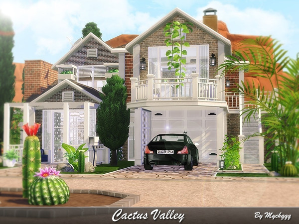 Cactus Valley house by MychQQQ at TSR image 2426 Sims 4 Updates