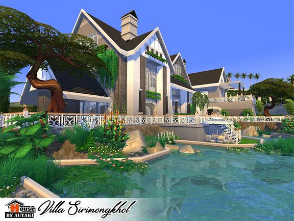 Villa Sirimongkhol by autaki at TSR image 2438 Sims 4 Updates