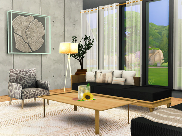 Lykos house by Rirann at TSR image 2440 Sims 4 Updates