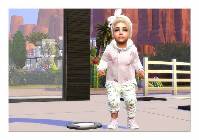 Sims 4 Designer Set: Jacket, Pants, Sneakers & Hairband at Sims4 Boutique