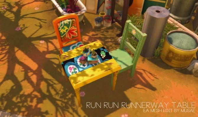 Sims 4 Run Run Runnerway at EFFIE