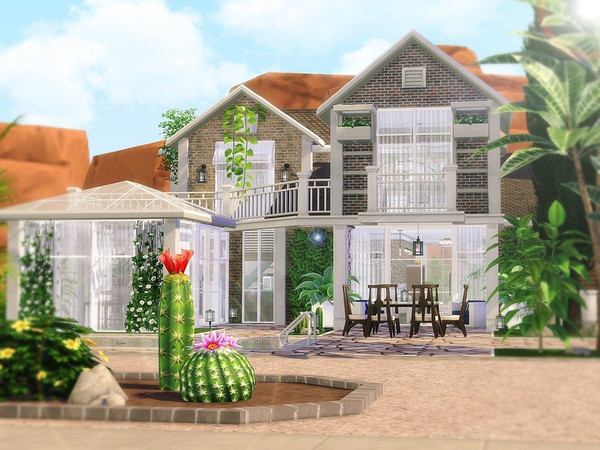 Cactus Valley house by MychQQQ at TSR image 2519 Sims 4 Updates