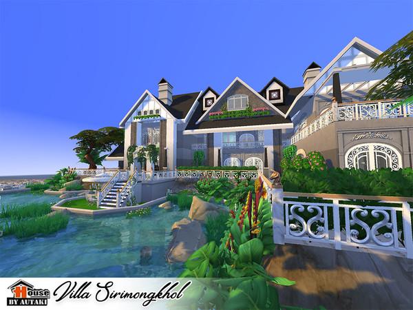 Villa Sirimongkhol by autaki at TSR image 2529 Sims 4 Updates