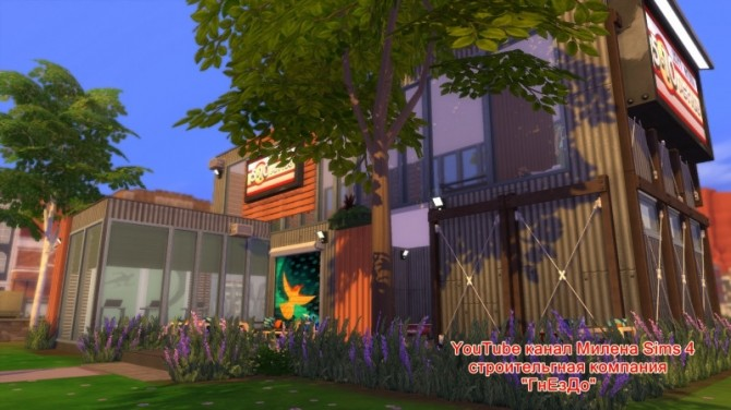 Sims 4 Container gym at Sims by Mulena
