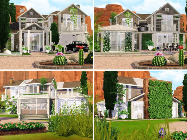 Cactus Valley house by MychQQQ at TSR image 2620 Sims 4 Updates