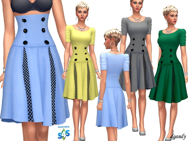 Skirt 201903 04 by dgandy at TSR image 2624 Sims 4 Updates