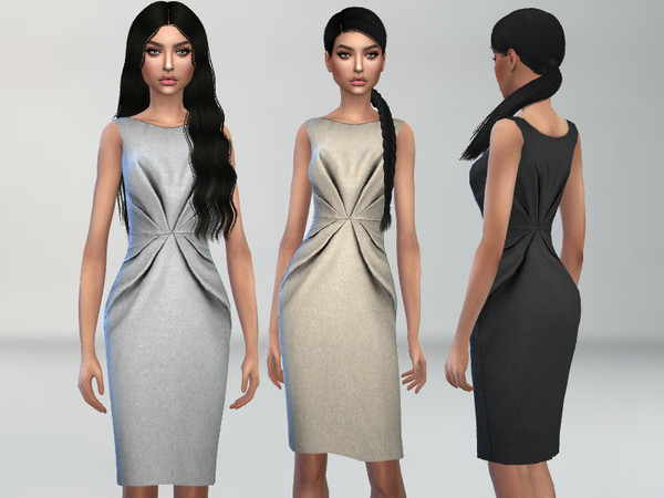 Sims 4 Classy Dress by Puresim at TSR