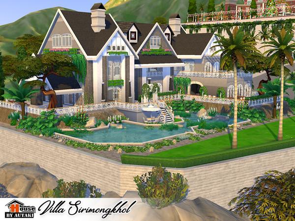 Villa Sirimongkhol by autaki at TSR image 2634 Sims 4 Updates