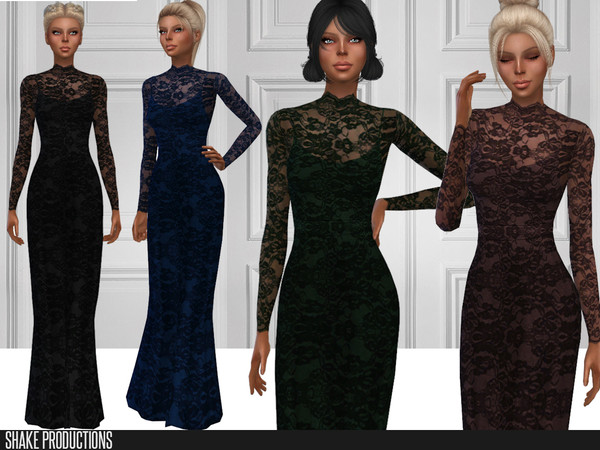 246 Gown by ShakeProductions at TSR image 2715 Sims 4 Updates