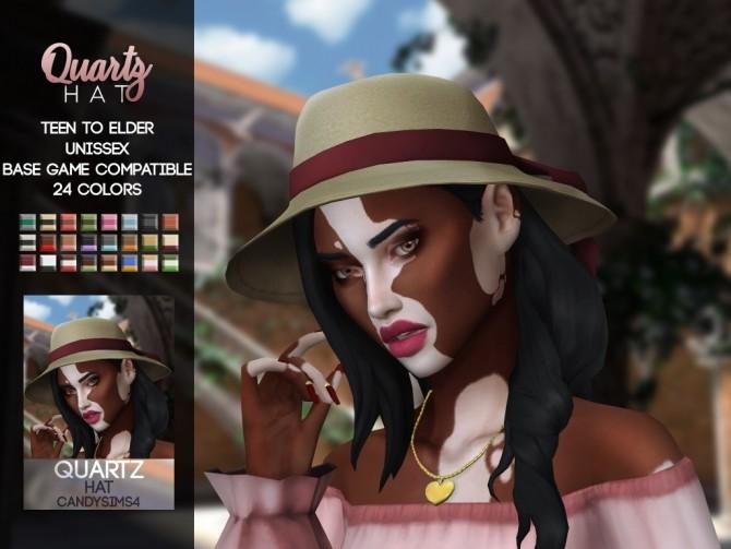 QUARTZ HAT at Candy Sims 4 image 2721 670x503 Sims 4 Updates