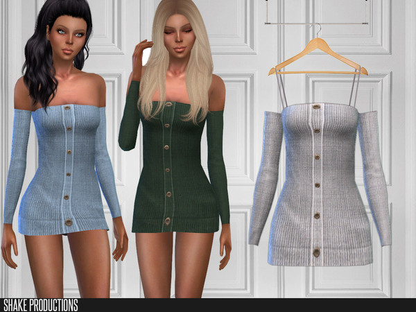 Sims 4 253 Short Dresses by ShakeProductions at TSR