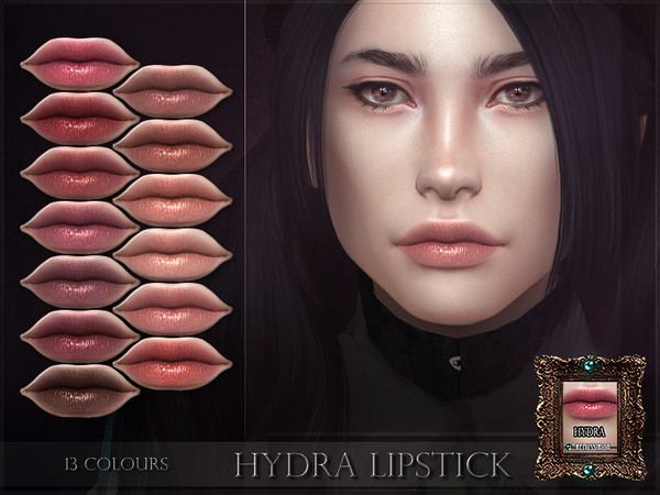Sims 4 Hydra Lipstick by RemusSirion at TSR