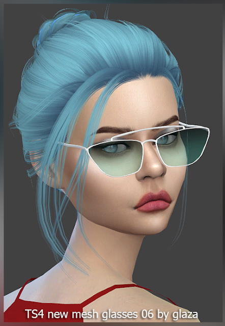 Glasses 06 at All by Glaza image 2842 Sims 4 Updates