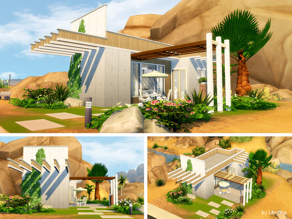 Sims 4 Concrete Start F by Lhonna at TSR