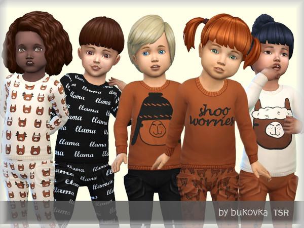 Sims 4 Shirt Lama by bukovka at TSR