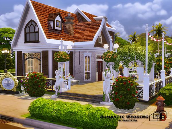 Romantic Wedding club by Danuta720 at TSR image 2929 Sims 4 Updates