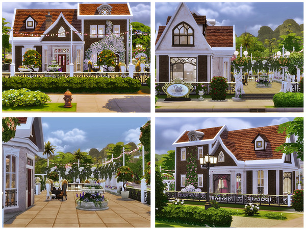 Romantic Wedding club by Danuta720 at TSR image 3029 Sims 4 Updates