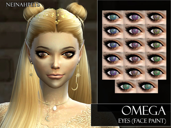 Sims 4 Omega Eyes by neinahpets at TSR