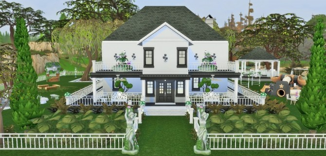Two story home by heikeg at Mod The Sims image 3119 670x321 Sims 4 Updates