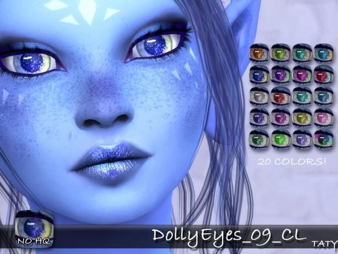 Sims 4 Dolly eyes 09 at Taty – Eámanë Palantír