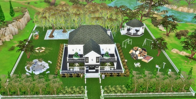 Two story home by heikeg at Mod The Sims image 3216 670x339 Sims 4 Updates