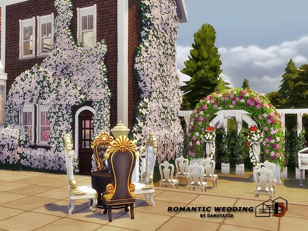 Romantic Wedding club by Danuta720 at TSR image 3226 Sims 4 Updates